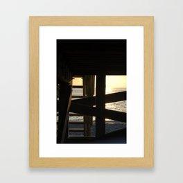Criss Cross Apple Sauce Framed Art Print