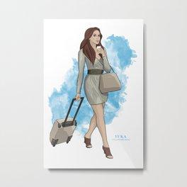 Travel Metal Print