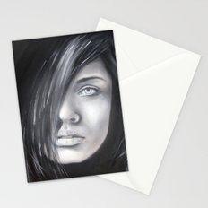 Tajemná žena Stationery Cards