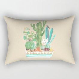 Desert planter Rectangular Pillow