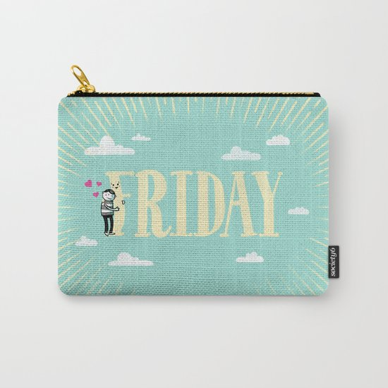 Friday, I'm in Love Carry-All Pouch
