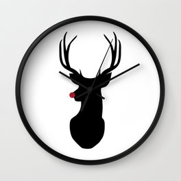 Rudolph The Red-Nosed Reindeer Wall Clock