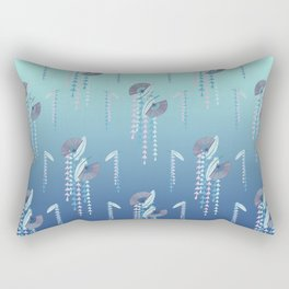 Fans & Feathers // Graphic Print Rectangular Pillow