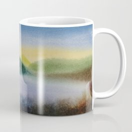 Mountain and Sea 5 / Watercolor Painting Coffee Mug