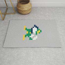 8bit Notre Dame Logo Rug