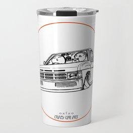 Crazy Car Art 0207 Travel Mug
