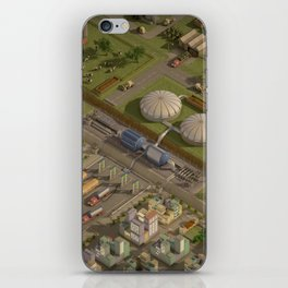 Biogas City iPhone Skin