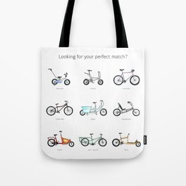 Looking for your perfect match? Tote Bag