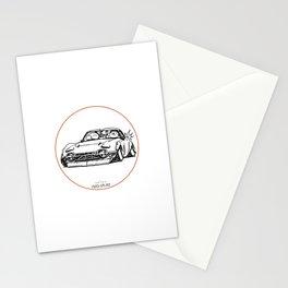 Crazy Car Art 0016 Stationery Cards