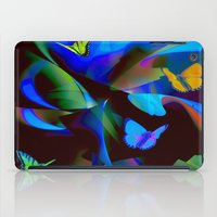 butterflies iPad Cases featuring Butterflies by tarrby/Brian Tarr