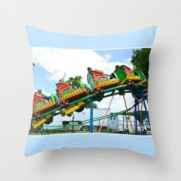 Chinese Dragon ride 2 Throw Pillow