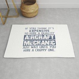 Aircraft Mechanic Rug