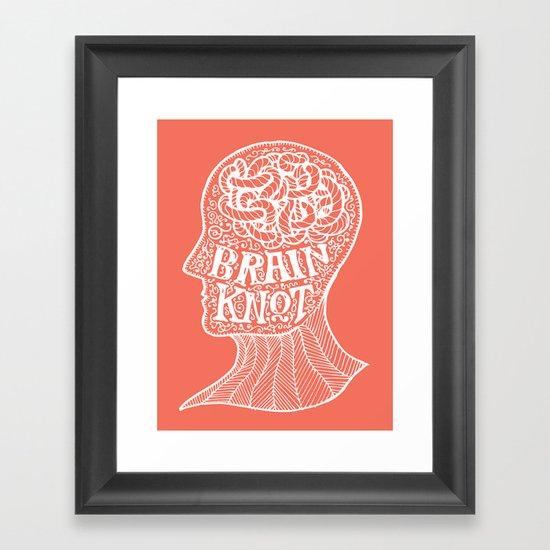Brainknot Framed Art Print