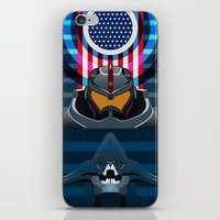 pacific rim iPhone & iPod Skins featuring Pacific Rim, Jaws edition by milanova