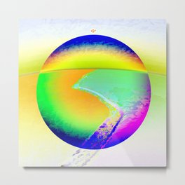 Iceberg A68 - Ultraviolet Metal Print