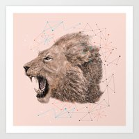 leo Art Prints featuring Leo by dogooder