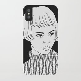 Chic Lady iPhone Case