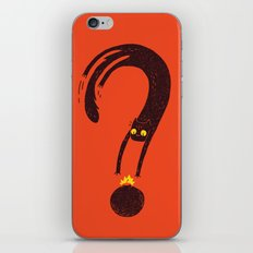 Curiosity Exploded the Cat iPhone & iPod Skin