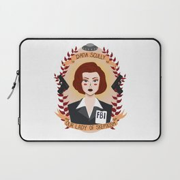 Dana Scully Laptop Sleeve