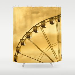 Carnival Is Over Shower Curtain