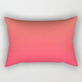 Peach Pink Gradient Rectangular Pillow