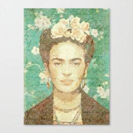 Rosas para Frida Canvas Print