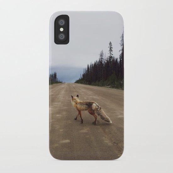 Road Fox iPhone Case