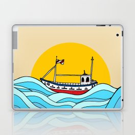 The little fishing boat Laptop & iPad Skin