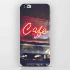 Camera Café iPhone & iPod Skin