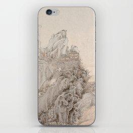 White Crane Mountain iPhone Skin