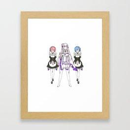 Re:ZERO Framed Art Print