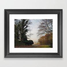 A Glimpse of Lower Wharfedale Framed Art Print