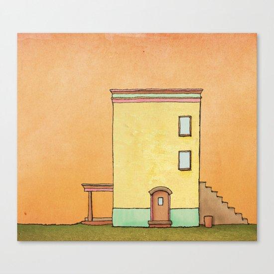 Simple House Canvas Print