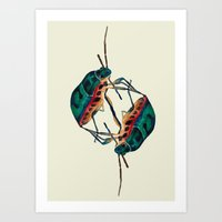 insects:love 01 Art Print