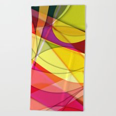 Abstract #367 Beach Towel