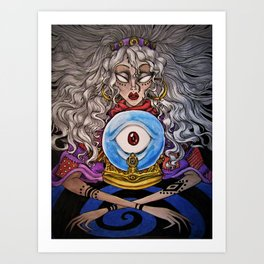 Divination Art Print