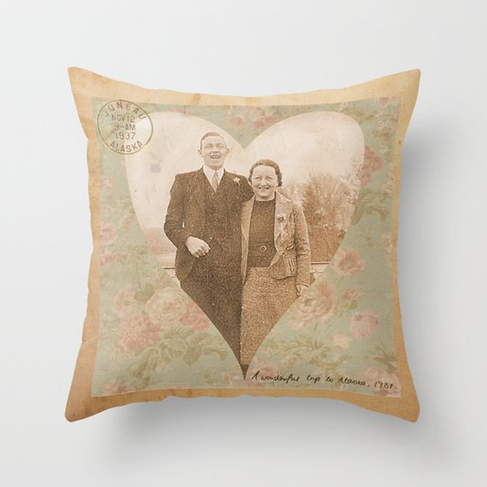 1937 Throw Pillow