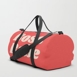 Retro Boss Babe - Coral Duffle Bag