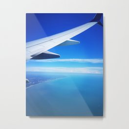 Florida from Above Metal Print