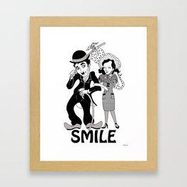Charlie Smile Framed Art Print