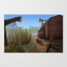 Small Farm Canvas Print