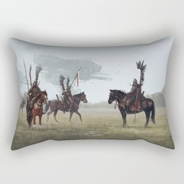 1920 - winged patrol Rectangular Pillow