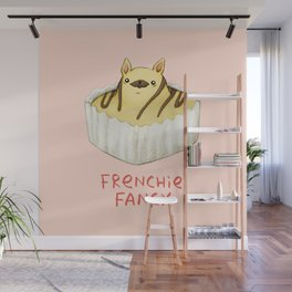 Frenchie Fancy Wall Mural