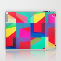 Colorful Truth. Red Laptop & iPad Skin