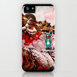 Reindeer Twins: Strawberry Surprise (Candy Christmas Series) iPhone Case
