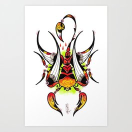scorpiarrow Art Print