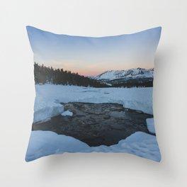 Bighorn Plateau - Pacific Crest Trail, California Throw Pillow