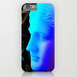 Ancient neon gods #4: Ceres/Demeter iPhone Case