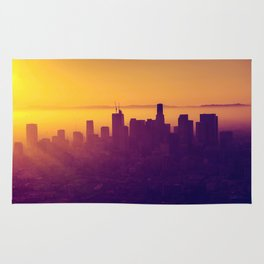 Los Angeles at Sunset Rug