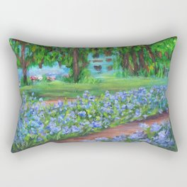 Monet's Garden AC20110715a Rectangular Pillow